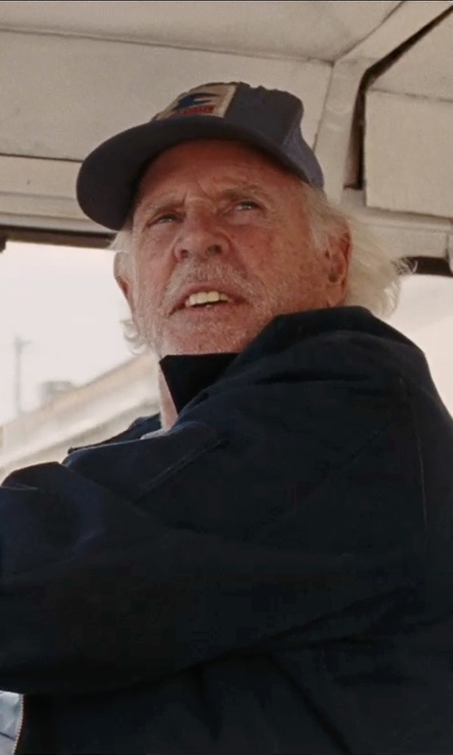 Bruce Dern with Goorin Brothers 'Animal Farm - Wolf' Trucker Cap in Cut Bank