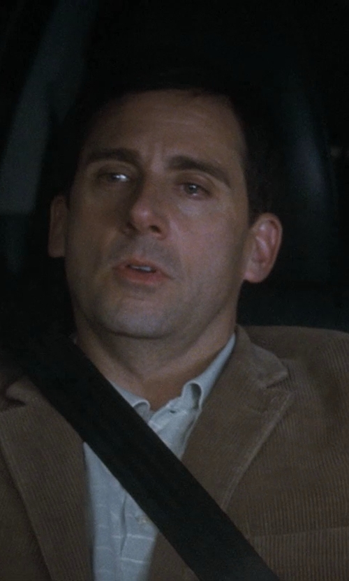 Steve Carell with Ralph Lauren Classic-Fit Striped Polo Shirt in Crazy, Stupid, Love.