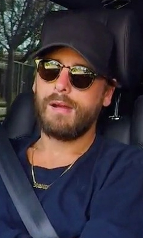 Scott Disick with Flexfit Flatbill Trucker Hat in Keeping Up With The Kardashians