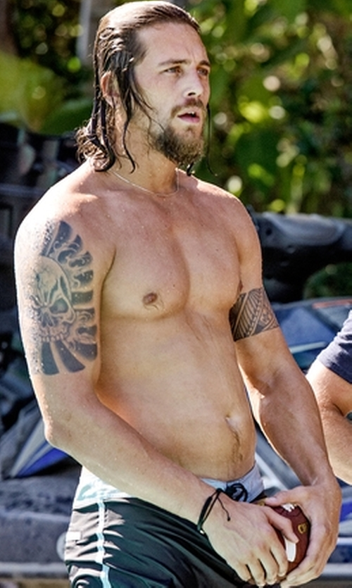 Ben Robson with Reebok One Series Strength Nasty Cordura Board Short in Animal Kingdom