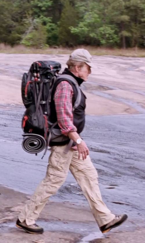 Robert Redford with The North Face Paramount Peak 2 Convertible Reg Leg Walking Pants in A Walk in the Woods