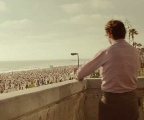Joaquin Phoenix with Dockweiler State Beach Los Angeles, CA in Her