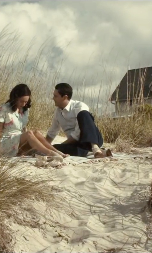 Jack Huston with Cole Haan Carter Grand Plain Oxford Shoes in The Longest Ride