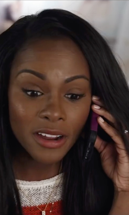 Tika Sumpter with King Baby Studio Sacred Heart Finger Ring in Ride Along 2