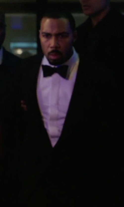 Omari Hardwick with Givenchy Wool and Mohair-Blend Tuxedo Suit in Power
