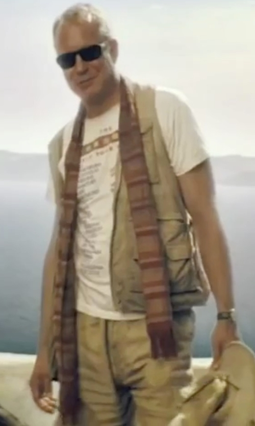 Stellan Skarsgård with Gramicci 'Legion' Cargo Shorts in Mamma Mia!