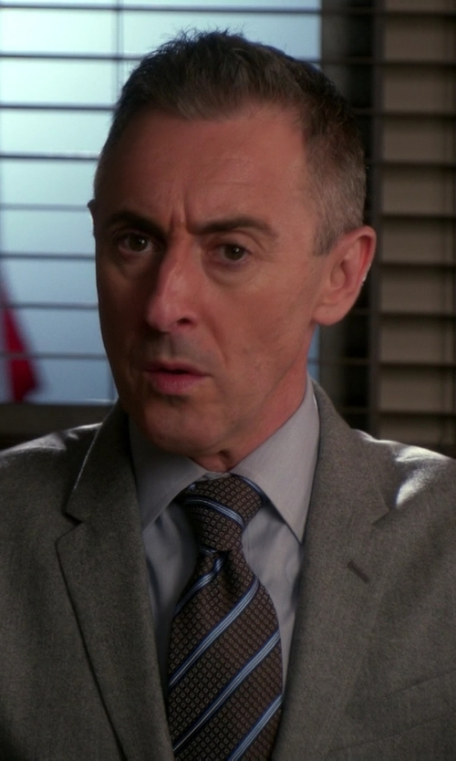 Alan Cumming with Z Zegna Two Piece Suit in The Good Wife