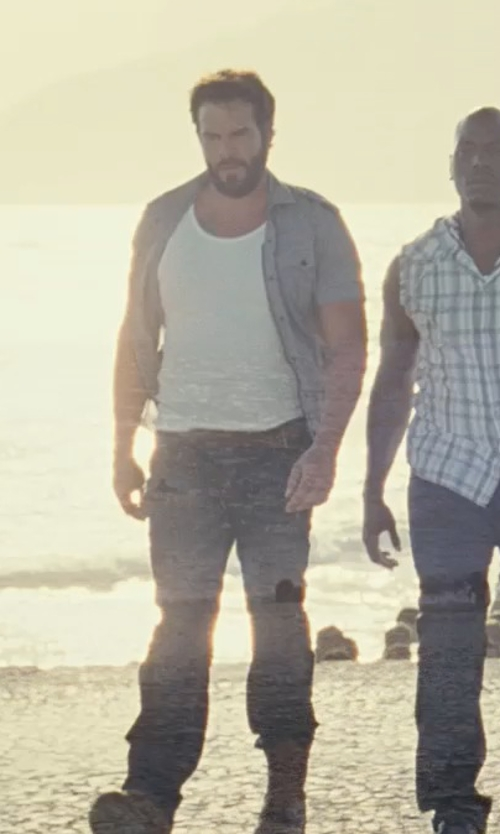 Matt Schulze with Ralph Libonati Co/Blundstone M Lace-Up Boots in Fast Five