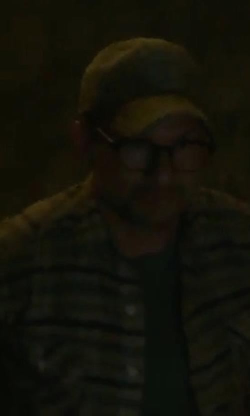 Christian Slater with Pukka Cotton Baseball Cap in Mr. Robot