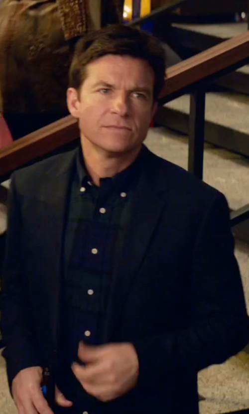 Jason Bateman with Theory Tobius Harvel Sport Coat in Office Christmas Party