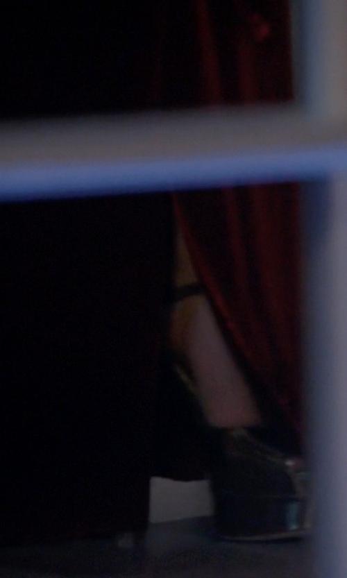 Lady Gaga with Vera Wang Platform Pumps in American Horror Story