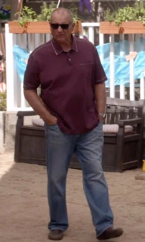 Ed O'Neill with Geox 'Snake Moc 11' Driving Shoes in Modern Family