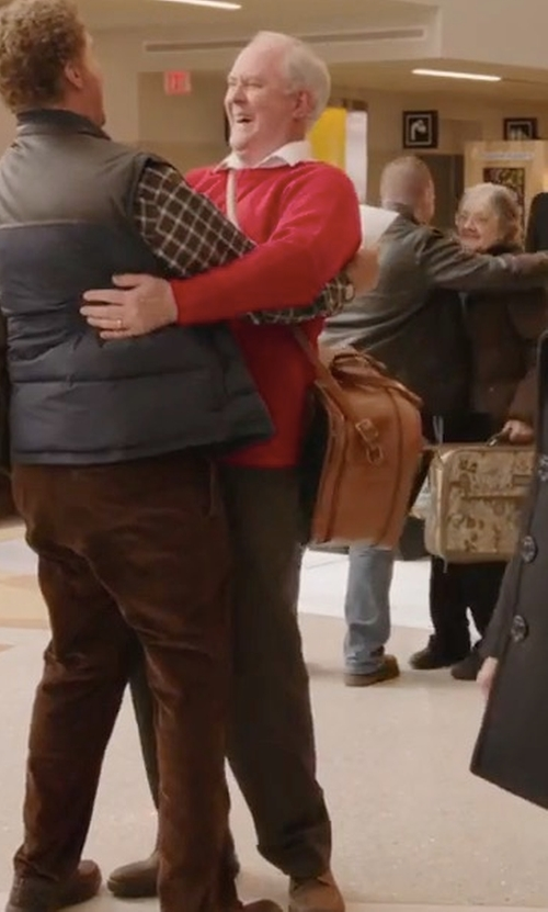 John Lithgow with Maestrami Casual Pants in Daddy's Home 2