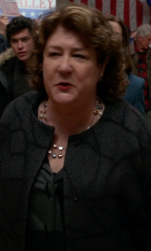 Margo Martindale with Bloomingdale's Station Necklace in The Good Wife