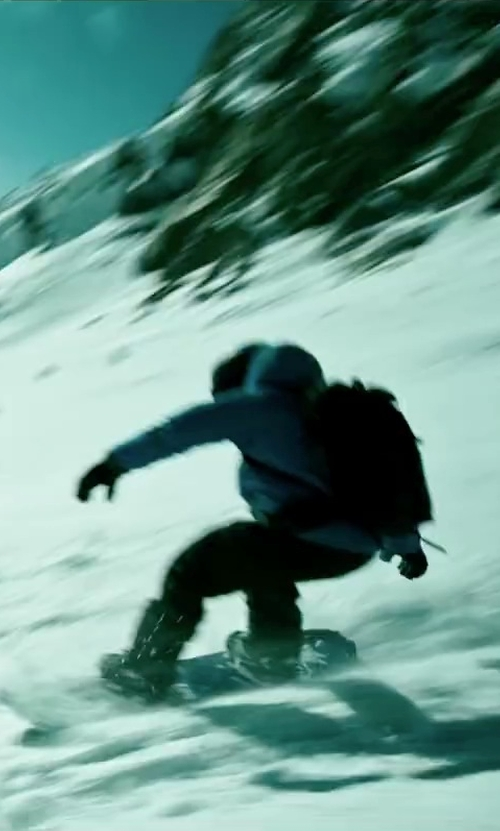 Luke Bracey with DC Shoes Judge Snowboard Boots in Point Break