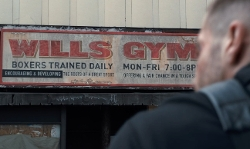 Jake Gyllenhaal with Carrick's Gym (Depicted as Wills Gym) Pittsburgh, Pennsylvania in Southpaw