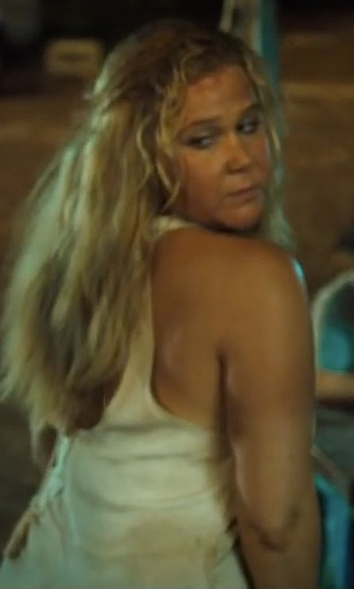 Amy Schumer with Chaser Open Back Mini Dress in Snatched