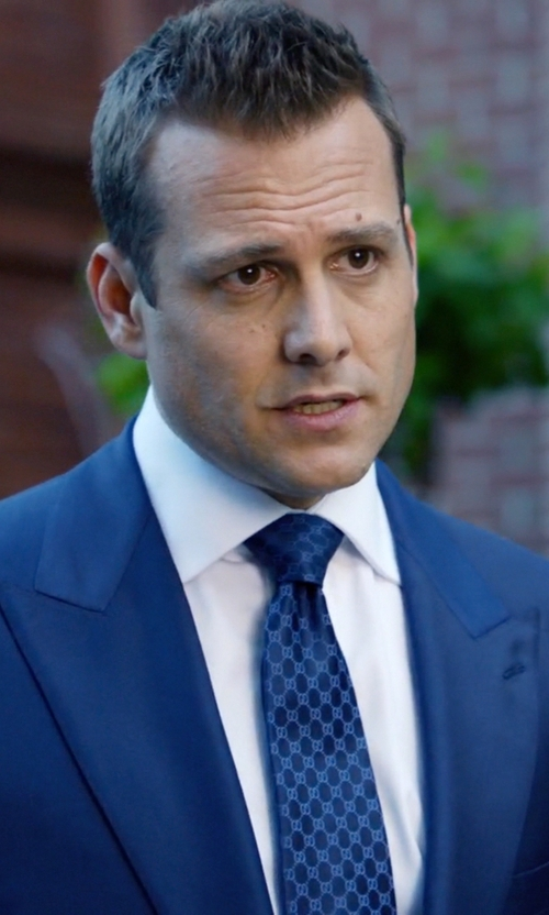 Gabriel Macht with Robert Talbott French Cuff Dress Shirt in Suits