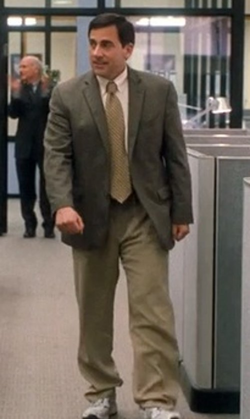 Steve Carell with Gap Classic Khaki in Crazy, Stupid, Love.