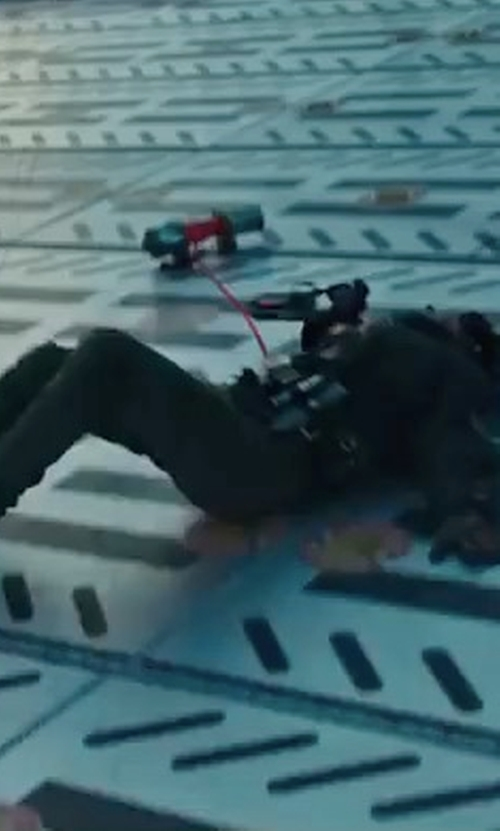 Katherine Waterston with Dr. Martens Pascal 8 Eye Boots in Alien: Covenant