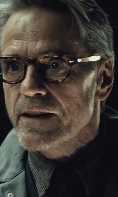 Jeremy Irons with Moscot Lemtosh Tortoise Glasses (Modified) in Batman v Superman: Dawn of Justice