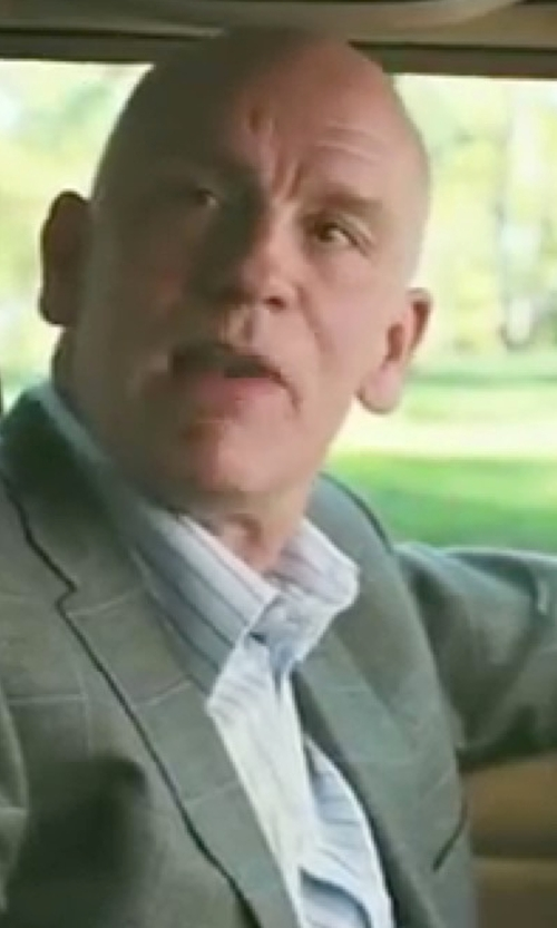 John Malkovich with Dolce & Gabanna Concealed Button Placket Dress Shirt in Burn After Reading