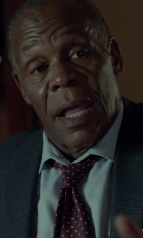 Danny Glover with Theory Keyport Dress Shirt in Beyond the Lights