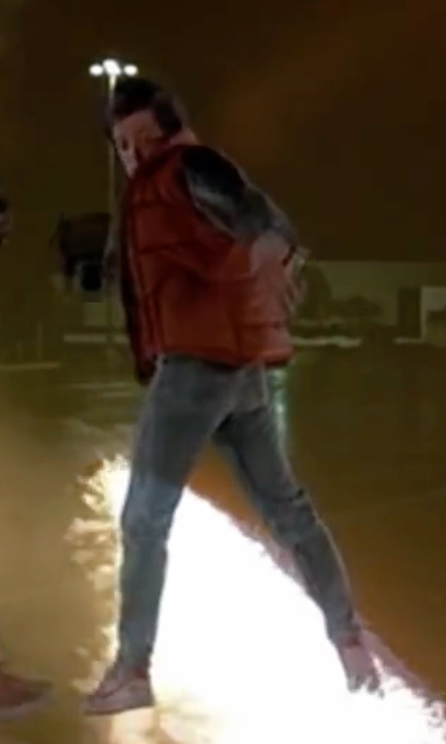 Michael J. Fox with Nike 1981 Bruin Sneakers in Back To The Future Part II