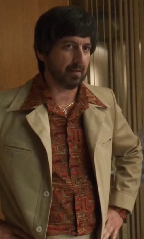 Ray Romano with Paul Smith Printed Shirt in Vinyl