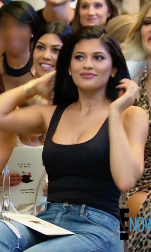 Kylie Jenner with American Apparel Cotton Spandex Jersey Thong in Keeping Up With The Kardashians
