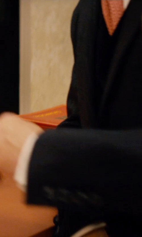 Johnny Depp with ITDC Front Desk Bell in Mortdecai