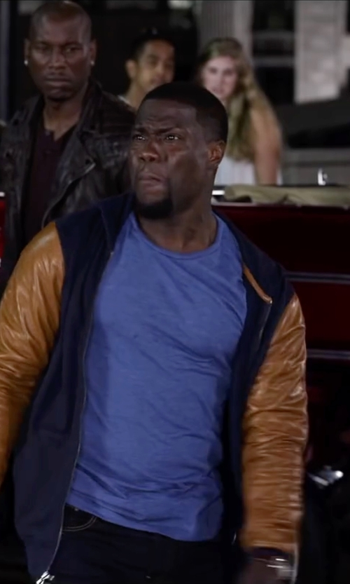 Kevin Hart with Derek Rose Men's Basel 1 French T-Shirt in Ride Along 2