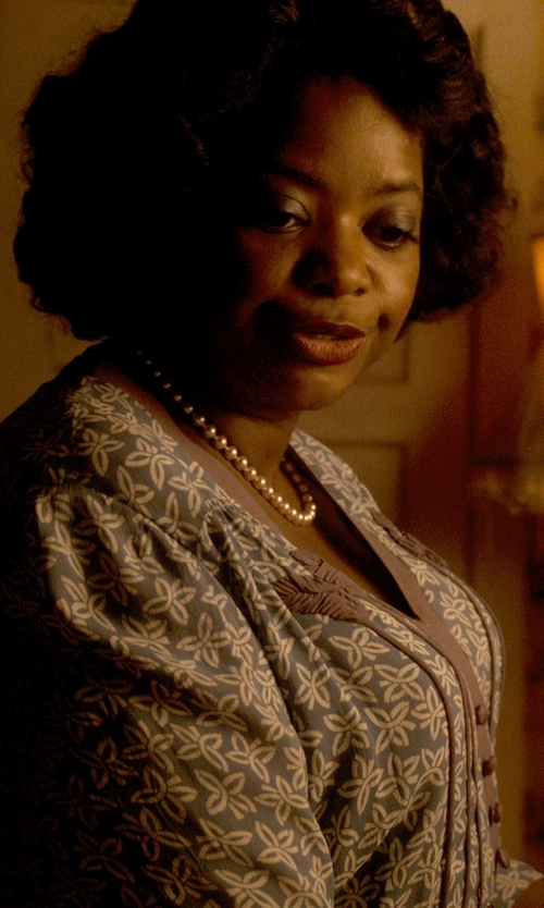 Octavia Spencer with Ganni Cardigan in Get On Up