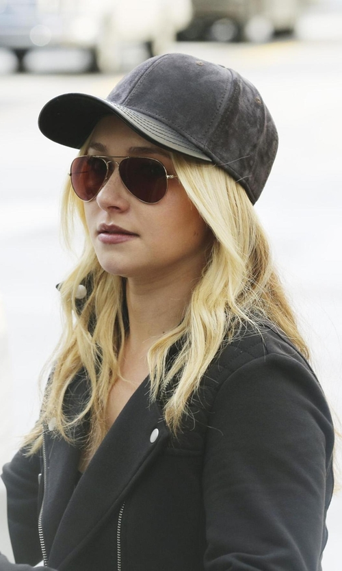 Hayden Panettiere with Gents 'Jack' Jersey Baseball Cap in Nashville