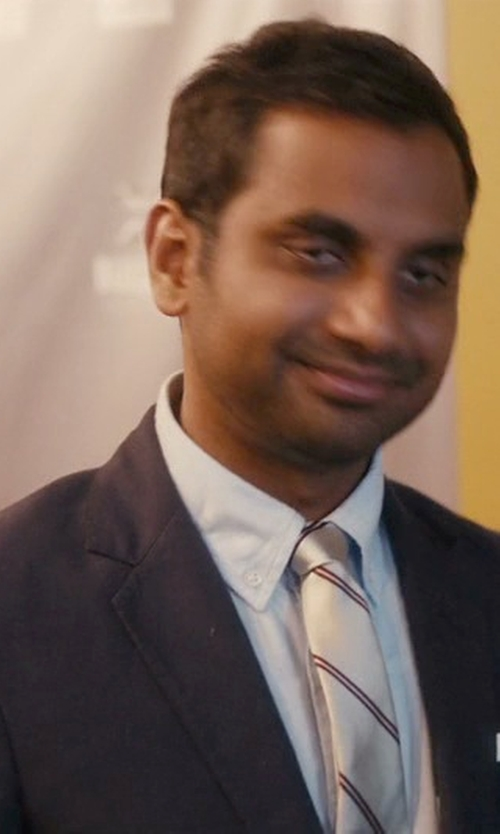 Aziz Ansari with Z Zegna Two Piece Suit in Master of None