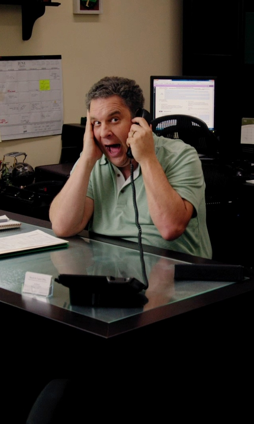 Jeff Garlin with Panasonic KX-TS500B Integrated Corded Phone System in Laggies