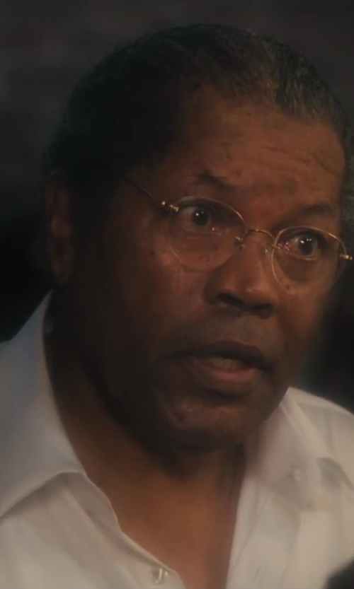 Clarence Williams III with In Style Eyes Aviator Bifocal Reading Glasses in Lee Daniels' The Butler