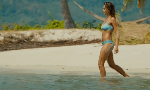 Jessica Alba with Koh Yao Yai Phang Nga, Thailand in Mechanic: Resurrection