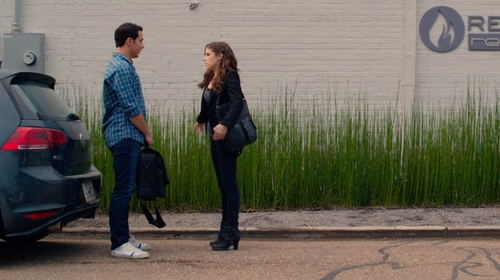 Skylar Astin with AG The Matchbox 11 Years Root Jeans in Pitch Perfect 2