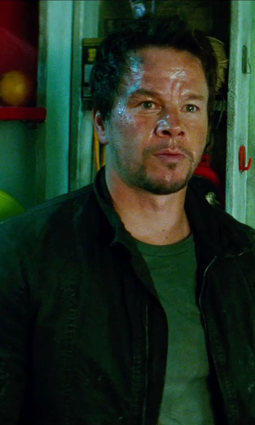 Mark Wahlberg with ROGUE CITY JACKET in Transformers: Age of Extinction