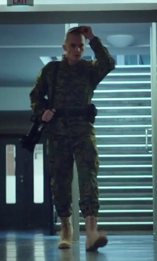 Rupert Friend with Rothco Men's Military Tactical Boots in Hitman: Agent 47