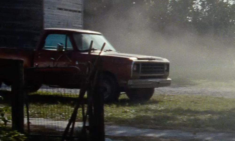 Unknown Actor with Dodge 1981 RAM Pickup Truck in Man of Steel