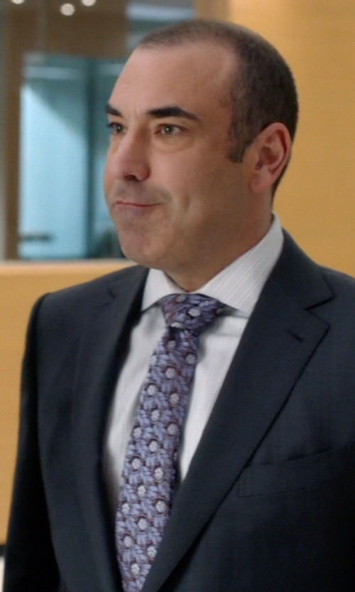 Rick Hoffman with Ted Baker London 'Kensington Floral' Silk Tie in Suits