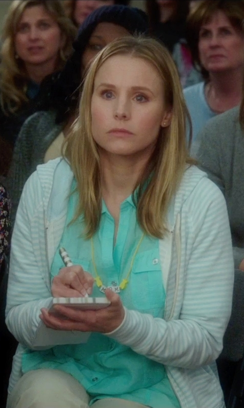 Kristen Bell with Columbia Ocean Tides Hoodie in Bad Moms