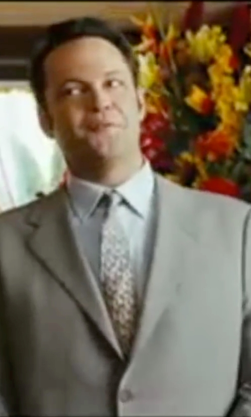 Vince Vaughn with Ted Baker London 'Jones' Trim Fit Wool Suit in Wedding Crashers