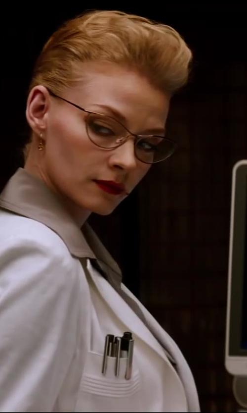 Svetlana Khodchenkova with Persol Vintage Cat Eye Glasses in The Wolverine