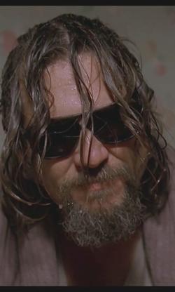 Jeff Bridges with Vuarnet 003 Aviator Sunglasses in The Big Lebowski