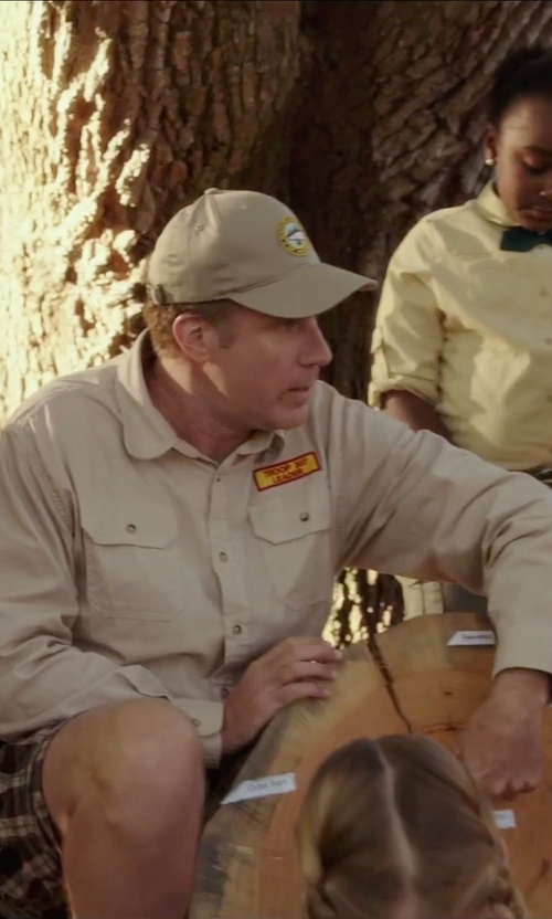 Will Ferrell with Carhartt Men's Flame Resistant Classic Twill Shirt in Daddy's Home