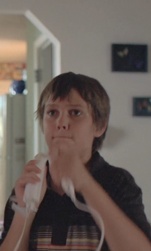 Ellar Coltrane with Nintendo Wii in Boyhood