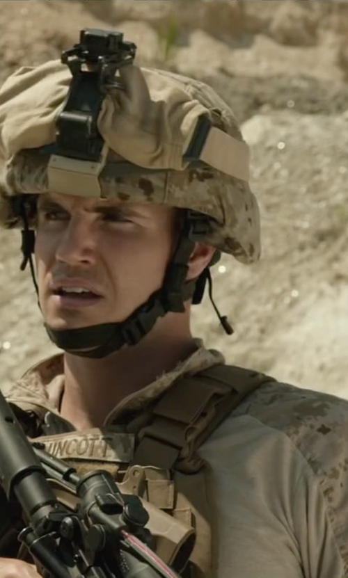 Robbie Amell with Rothco Army Combat Uniform Set in Max